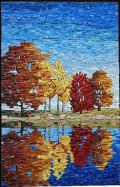 Trees-mosaic-by-Sue-Giannott.jpg 556×867 piksel