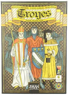 Troyes Board Game Z-Man Games