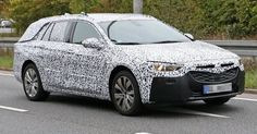2017 Opel Insignia Sports Tourer Spied, Will Likely Arrive As A Buick In The US Too #Buick #Buick_Regal