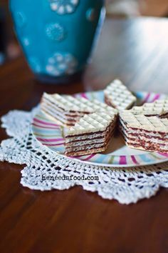 Oblatne - Croatian Bosnian Wafer Cake | BigOven