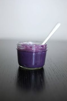 Blueberry Curd - ooh, pretty!  And awesome for filling cakes.  from http://www.beantownbaker.com/2012/02/blueberry-curd.html#