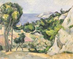 Trademark Art 'Lestaque' by Paul Cezanne Oil Painting Print on Wrapped Canvas Oil On Canvas, Canvas Art, Canvas Prints, Canvas Size, Post Impressionism, Impressionist, Thing 1, Paul Cezanne, Green Landscape