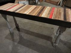 yard stick table