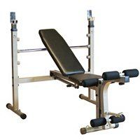 Body-Solid Tools Best Fitness Olympic Bench ShopNBC.com // I miss having one of these.