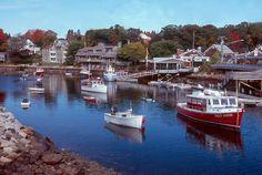 Perkins Cove Ogunquit Maine
