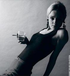 Andy Warhol was often blamed for Edie Sedgwick's descent into drug addiction and mental illness. However, before meeting Warhol, Edie had b. Edie Sedgwick, Jerry Schatzberg, Andy Warhol, Anthony Kiedis, Twiggy, Freddie Mercury, Marla Singer, Poor Little Rich Girl, Photo Star