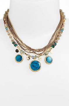 I am LOVING this multi row layered necklace!!!  SO cute!!