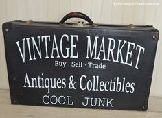 Cool Junk Signs for the Vintage Market