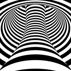 Illustration about Op art, also known as optical art, is a style of visual art that makes use of optical illusions. Illustration of black, instrument, loop - 32575463 Illusion Kunst, Cool Optical Illusions, Optical Illusion Art, Illusions Mind, Illusion Gif, Les Gifs, Gif Animé, Animated Gif, Art Plastique