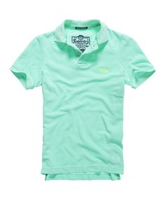 Shop Superdry Mens Vintage Destroyed Polo in Sea Spray. Buy now with free delivery from the Official Superdry Store. Superdry Fashion, Superdry Mens, Mens Fashion, Fashion Outfits, Fasion, Mens Polo T Shirts, Mens Clothing Styles, Vintage Men, Jeans
