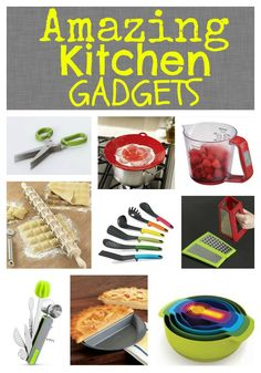 Top Kitchen Gadgets to help you Get Organized in The Kitchen! #GetOrganized, #Kitchen, #Gadgets