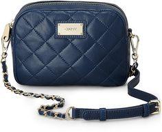 Tasche CAMERA BAG von DKNY in blau dunkel für Damen. Gr. 1