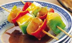 #VegetableSatay with #Peanut Sauce by Chef #TarlaDalal