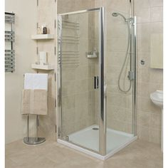 This type of shower door does not always work. Smaller shower spaces can benefit from a pivot shower door. Here are several ways to installing shower pivot doors. Corner Shower Enclosures, Quadrant Shower Enclosures, Bathroom Design Layout, Small Bathroom Renovations, Bath Screens, Bathroom Installation, Bathroom Showrooms, Pivot Doors, The Embrace