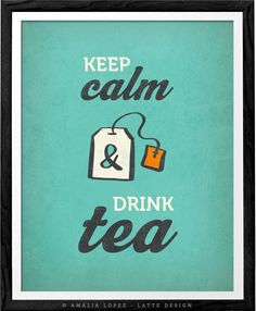 Keep calm and drink tea print keep calm poster British poster British print keep calm print kitchen tea quote print tea quote poster. Keep calm and drink tea print by Latte Design. The print has a light vintage effect you can see in the last picture. Perfect print for your kitchen, office space or as a present to any tea lover. - Heavyweight archival art paper printed using archival pigment inks for a lifetime. - Each piece is a one-off giclee fine art print of museum quality (not a...