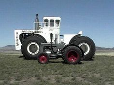 that is a big tractor!