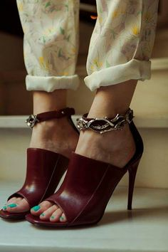 Wine shoes !!