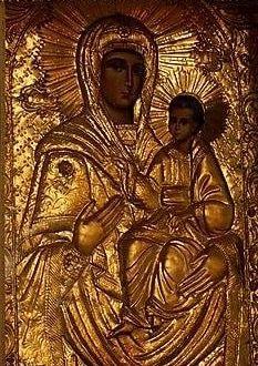 Παναγία-Ιησούς Χριστός (ΚΤ) Christianity, Buddha, Mosaic, Angel, Statue, Art, Art Background, Mosaics, Kunst