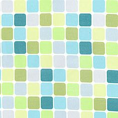 Sanctuary DS4705 Seafoam Glass Tiles by Patty Young for Michael Miller