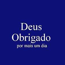 DEUS OBRIGADO