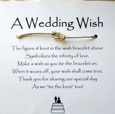 A wedding wish... I want to do this at our second wedding. :)