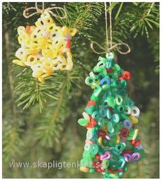 simple and nice Christmas Decorations, Christmas Ornaments, Holiday Decor, Winter Christmas, Xmas, Melting Beads, Diy For Kids, Blogg, Diy Projects