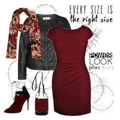 """""""every size is powerful"""" by shannonsmilez ❤ liked on Polyvore featuring Zizzi, Roland Mouret, Simon Miller, Thomas Wylde and powerlook"""