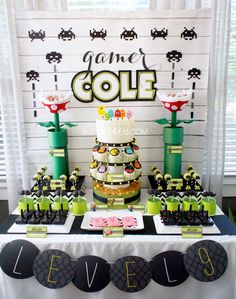Game On! An Ulitmate Gaming Party! {Real Parties} | Amy's Party Ideas