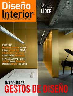 Diseño interior. N. 298. Gestos de diseño  Sumario: http://www.revistadisenointerior.es/sumario-298-revista-diseno-interior/  Catálogo: http://kmelot.biblioteca.udc.es/record=b1178089~S6*gag