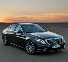 Mercedes-Benz S 63 AMG. I simply like how my legs look shotgun in this ride.