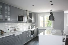 Ikea grey kitchen remodel Cabinet Styles, Little Houses, Kitchen Remodel, Ikea, Kitchen Cabinets, Photos, Home Decor, Small Houses, Kitchen Cupboards