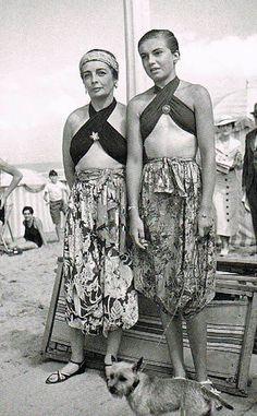 1930 Schiaparelli Beach Swim Wear