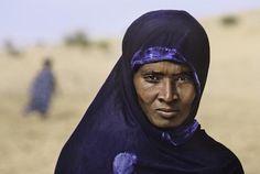Steve McCurry, Tuareg Woman, C-type print on Fuji Crystal Archive paper