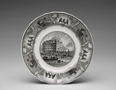 Plate, ca. 1836-59 | The Museum of Fine Arts, Houston