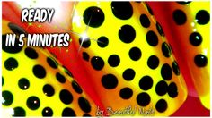 Nails Design for Short Nails Easy 2014 - Neon Nails for Summer