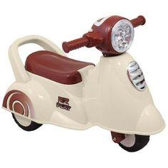 Loop scooter Vespa beige. Een geweldige loopscooter voor kids! Shop it by Bruun! Voor stoere hippe mama's, baby's en kids