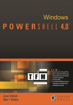 PowerShell-4_TFM_Cover