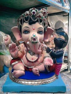 Lord Ganesha as a baby
