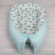 Hnízdečko pro miminko, barva mint vzor ježci opět skladem. Kompletní nabídka na www.domibaby.cz #hnizdopromiminko #hnizdeckopromiminko #pelisekpromiminko