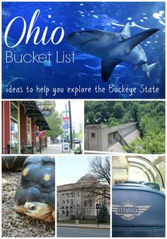 Things to do in Ohio Bucket List
