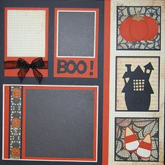 Halloween scrapbook pages, what are the ideas to apply? Halloween is about to come. Of course, it is better if you prepare all the things to make this.