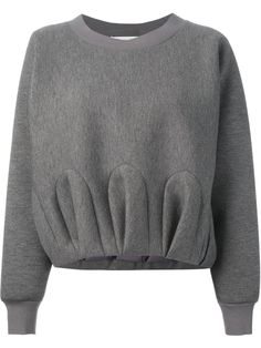 Viktor & Rolf Gathered Effect Sweatshirt - Gaudenzi - Farfetch.com