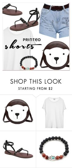 Prints Charming: A Shorts Story 3 by paculi on Polyvore featuring printedshorts