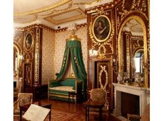 THE KING'S BEDROOM, Royal Castle, Warsaw, Poland