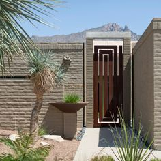 landscape design phoenix Landscape Contemporary with balls arizona