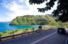 The historic Hana Highway is one of the best ways to cruise the island. Starting in Kahului, the 68-mile stretch can take as little as three hours and passes black-sand beaches, bamboo jungles and jaw-dropping waterfalls.
