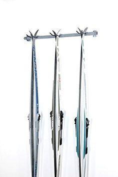 Support à ski (3 paires) - Rangement d\'équipement de sport - Garage ...