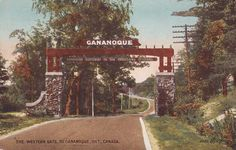 The Western Gate to Gananoque, Ontario, Canada - Canadian Gateway to The Thousand Islands - pm 1914