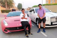 Here we go,new video is up from Movlogs.His friend Rashid gave his Ferrari to Mo for a trade.Ferrari wrapped with red color,car is super cool.For interview view of this Ferrari watch out the below video. Ferrari Watch, Ferrari Car, Mascarillas Peel Off, Mo Vlogs, Youtube Stars, Rich Kids, Beginner Painting, Best Weight Loss, Youtubers