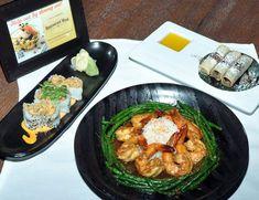 A meal prepared by Tao Las Vegas for Spring Las Vegas Restaurant Week.